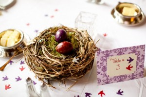 Easter Decoration - Birds Nest Table Centerpiece