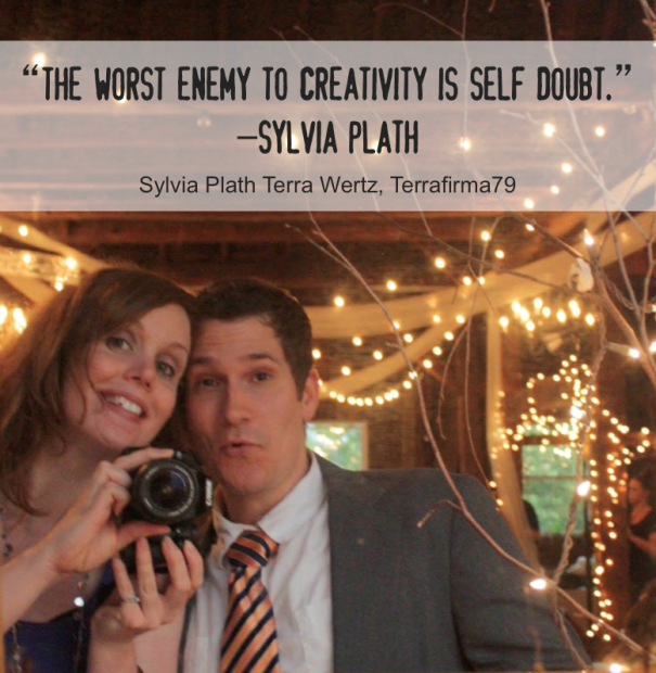 Terrafirma79 Quote - The worst enemy to creativity is self doubt.""