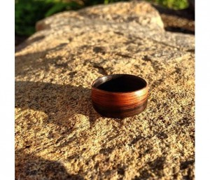 Gift Ideas for Him Under $50 - http://www.aftcra.com/creationsbywill/listing/9852/ebony-africa-bentwood-ring