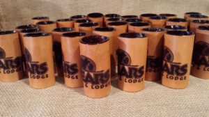 Gift Ideas for Him Under $50 - Unique Leather Shot Glass