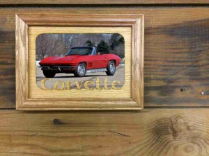 Fathers Day Gift - Custom Car Picture Frame