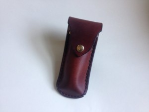 Fathers Day Gifts - Large Handmade Leather Pocket Knife Holster
