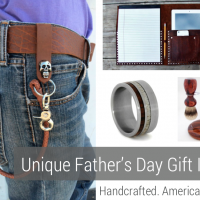 Unique Fathers Day Gift Ideas - Handcrafted - American Made - aftcra - Leather