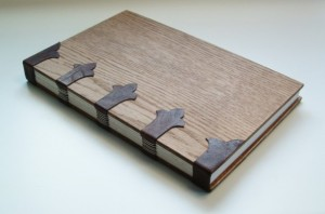 Unique Fathers Day Gift Ideas - Handmade Book Bound in Leather and Wood - handcrafted - American Made - aftcra
