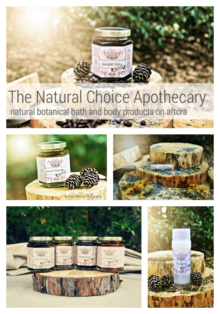 The Natural Choice Apothecary Natural bath and body handmade handcrafted artisanal aftcra