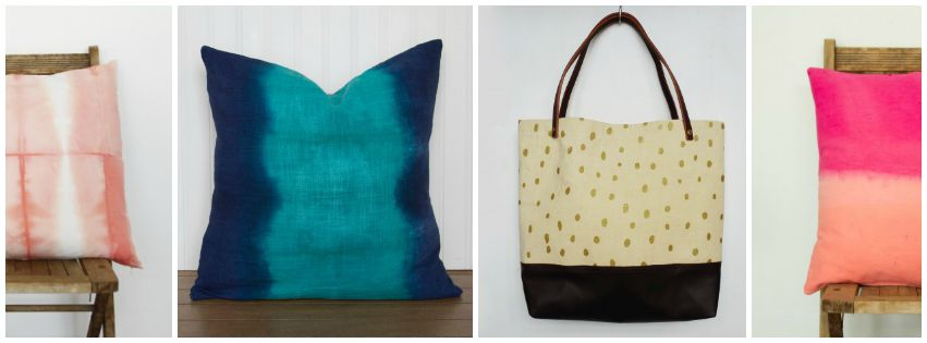 Natalie V Mason on aftcra - handcrafted throw pillows, table runners and tote bags American made 02