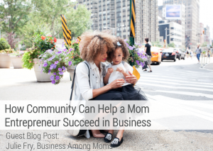 The impact of Community with Business Among Moms with aftcra Handmade