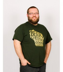 Christmas 2015 Gifts for Him - Wisconsin Green and Gold Beer, Cheese & Good Company