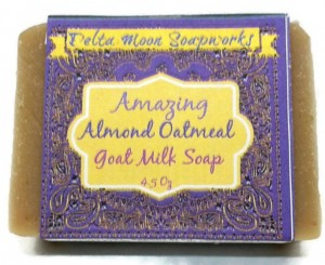 Amy Oestreicher - Allspice and Acrylics - Christmas 2015 Gift Ideas Nine Amazing Artisanal Handmade Christmas Gifts - Oatmeal Goat Milk Soaps, Lavender, Almond, unscented, Red Clover