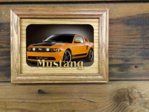 Caroline Papageorgiou of Artsy Print Designs - Christmas 2015 The Gift Guide for Him, Her and Everyone in Between - Custom Car Picture Frame 8x10 - Corvette, Mustang, Harley