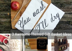 Jamie Cassidy of Voluntown Housewife - 3 Awesome Themed Gift Basket Ideas for Christmas 2015 Gift Ideas