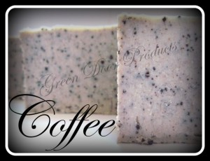 Jamie Cassidy of Voluntown Housewife - 3 Awesome Themed Gift Basket Ideas for Christmas 2015 Gift Ideas - Coffee Exfoliating Bar Soap Handmade Cold Process Soap Unscented