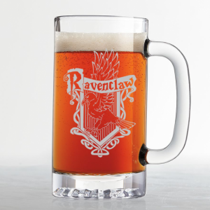 Nine Gift Ideas for Teenage Boys - Handmade and Made in America 01 Harry Potter - Ravenclaw House Crest - Etched Beer Mug