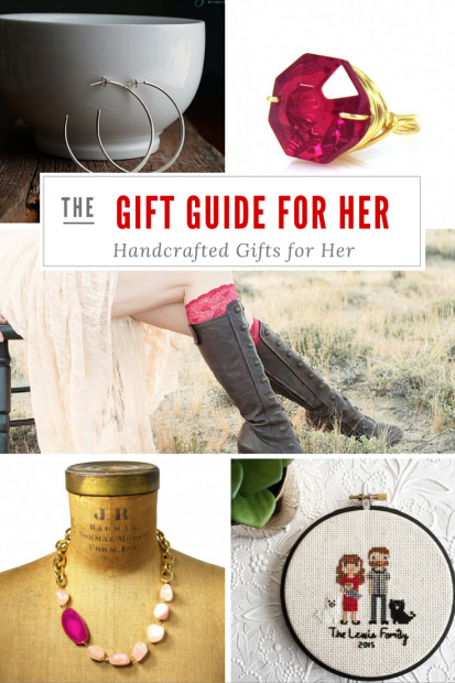 Valentines Gifts for Her - Handmade Gifts American Made Gift Ideas - Wife Gift - Girlfriend Gift