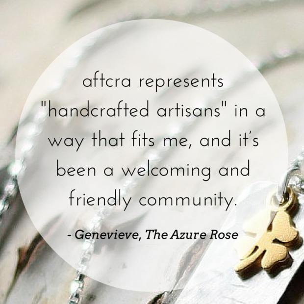 Meet the Maker - Genevieve of The Azure Rose on aftcra - Handmade Jewelry Made in the USA Hand Stamped Personal Custom Necklaces Dog Tags Keychains 07