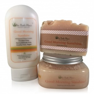 Gifts for Every Mom - The Freedom Project - Good Morning Sunshine Energizing Bath and Body