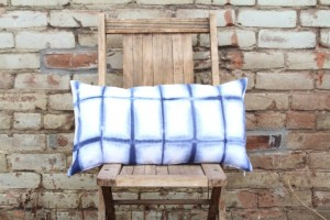 Handmade Mothers Day Gifts - Shibori Indigo Throw Pillow