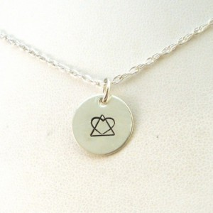 Handmade Mothers Day Gifts - Special Adoption Symbol Necklace