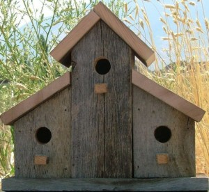 Mother's Day Gift Guide for Every Type of Mom - Angela Horn - Rustic Upcycled Pallet birdhouse