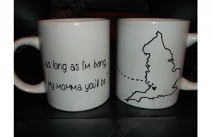 Mothers Day Gifts - Mother and Daughter Mug