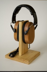 Mothers Day Gifts - Reclaimed Wood Headphones