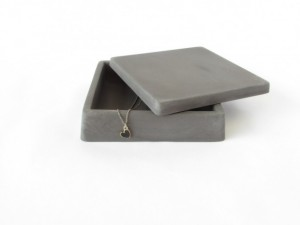 Unique Mother's Day Gifts Under 25 -  Grey Concrete Trinket Box