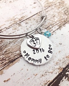 Unique Mother's Day Gifts Under 25 - Mommy-To-Be Pregnancy Bracelet