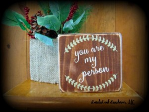Unique Mother's Day Gifts Under 25 - You Are My Person Wooden Wall Decor