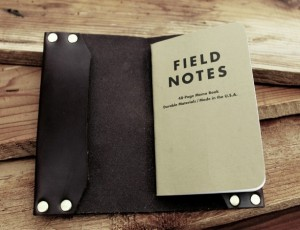 Extraordinary Father's Day Gifts - Field Notes Journal Cover