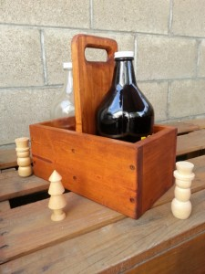 Extraordinary Father's Day Gifts - Wooden Growler holder