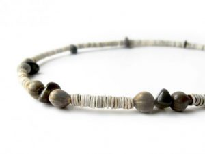 Fathers Day - Men's necklace handcrafted from natural shell