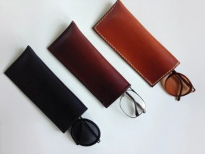 Handmade Gifts for Dad - Handmade Leather Eyeglass Case