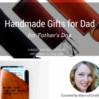 Handmade Gifts for Dad for Father's Day - Handmade gift ideas for him - aftcra - gifts - handcrafted gifts - American made gifts - Made in USA gifts for Fathers Day