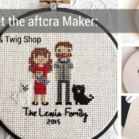 Meet the Maker - Cloth and Twig Shop - Custom Family Portraits - Custom Wedding Portraits - Housewarming Gift Ideas - Handmade Gift Ideas Mothers Day Gifts 2016 Made in the USA 20