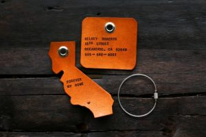 Under 25 Fathers Day - Custom Leather Luggage Tags