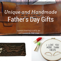 Unique and Handmade Father's Day Gifts - Handmade gift ideas for him - aftcra - gifts - handcrafted gifts - American made gifts - Made in USA gifts for Fathers Day