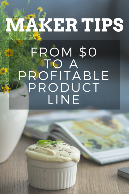 From $0 to a Profitable Product Line - Introduction to The Handmade Seller Magazine Pinterest