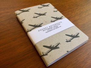 Airplane Notebooks 2 pack-Christmas-2015-Gifts-for-Him-Handmade-USA-Made-Gift-Ideas-For-Him