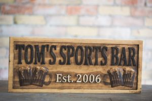 Custom Wooden Bar Sign-Christmas-2015-Gifts-for-Him-Handmade-USA-Made-Gift-Ideas-For-Him