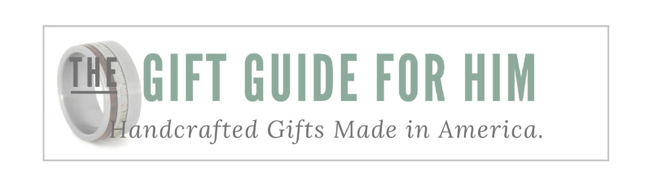 Gift Guide Landing Page Graphics