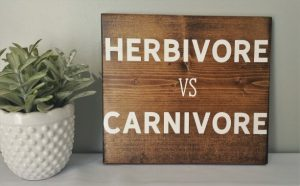 Herbivore vs Carnivore Sign-Christmas-2015-Gifts-for-Him-Handmade-USA-Made-Gift-Ideas-For-Him