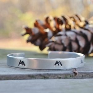 Hipster Mountain Bracelet-Christmas-2015-Gifts-for-Her-Handmade-USA-Made-Gift-Ideas-For-Her