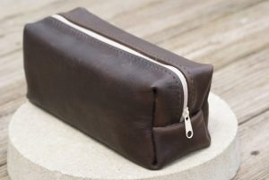 Horween Tannery's Essex vegetable-tanned leather toiletry case dopp kit-Christmas-2015-Gifts-for-Him-Handmade-USA-Made-Gift-Ideas-For-Him