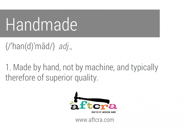 aftcra's Handmade Guidelines