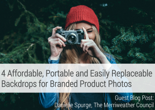 4 Affordable, Portable and Easily Replaceable Backdrops for Branded Product Photos Handmade on aftcra by Merriweather Council