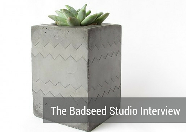 aftcra Featured Artisan Blog Cover - Badseed Studio Handmade Handcrafted industrial modern home decor made in the USA