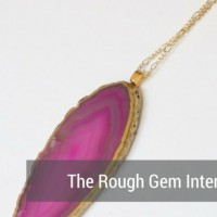 aftcra Featured Artisan Blog Cover - Rough Gem - neovictorian jewelry - druzy pyrite earrings - agate geode necklaces